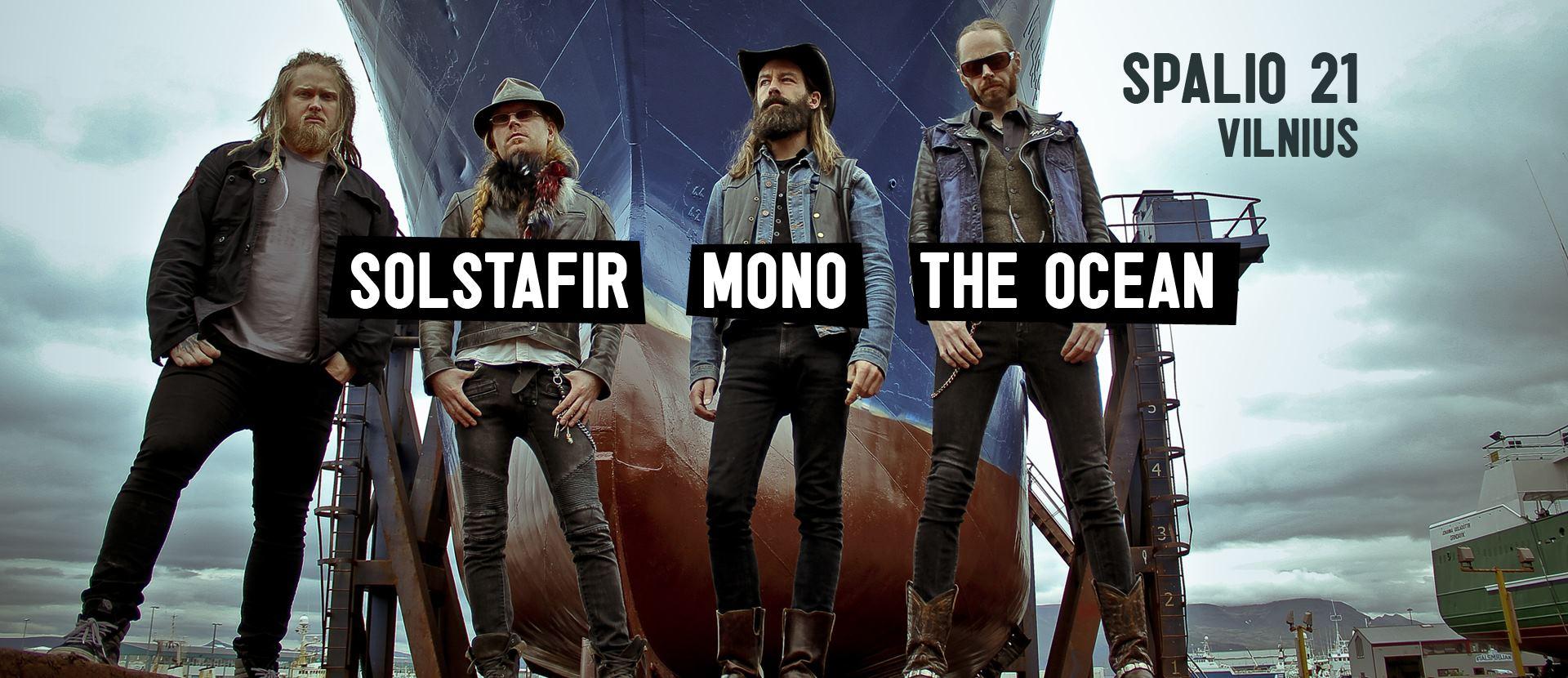 Mono / Solstafir / The Ocean