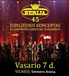 "Ansamblio ""Nerija"" jubiliejinis koncertas"
