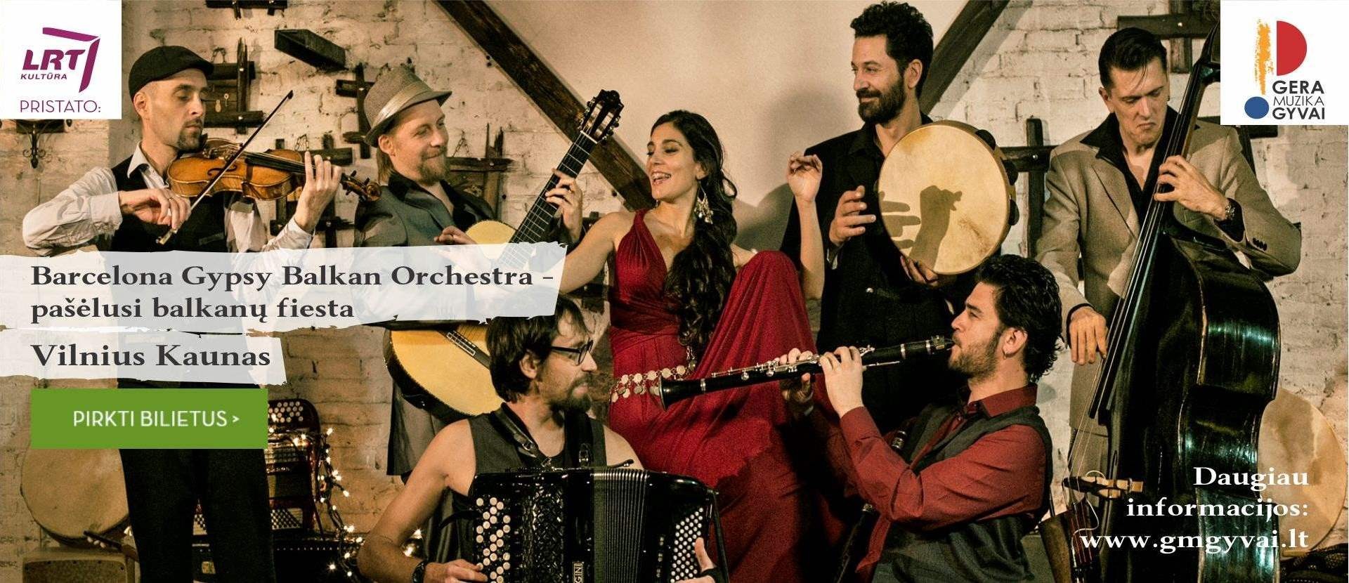 Barcelona Gypsy Balkan Orchestra