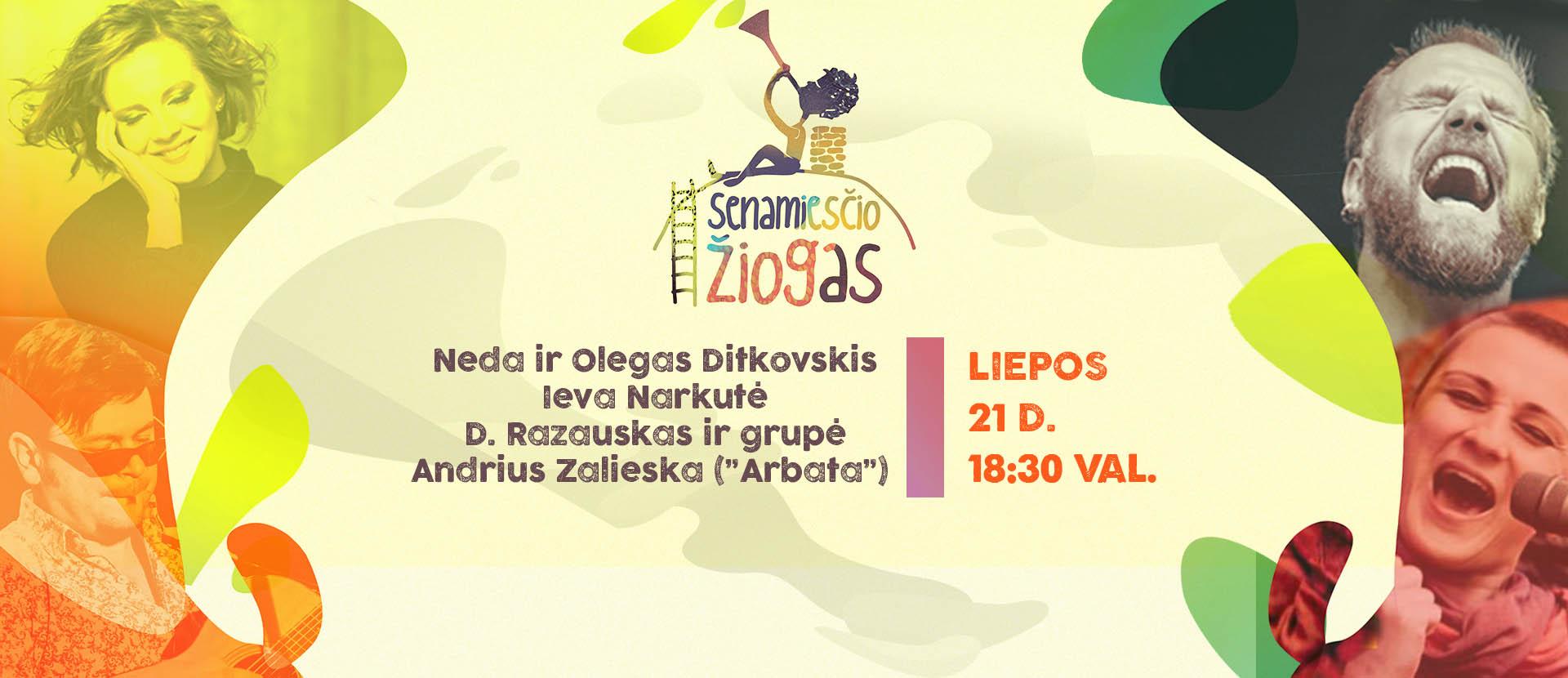 """Festivalio """"Senamiesčio Žiogas 2016"""" atidarymas"""