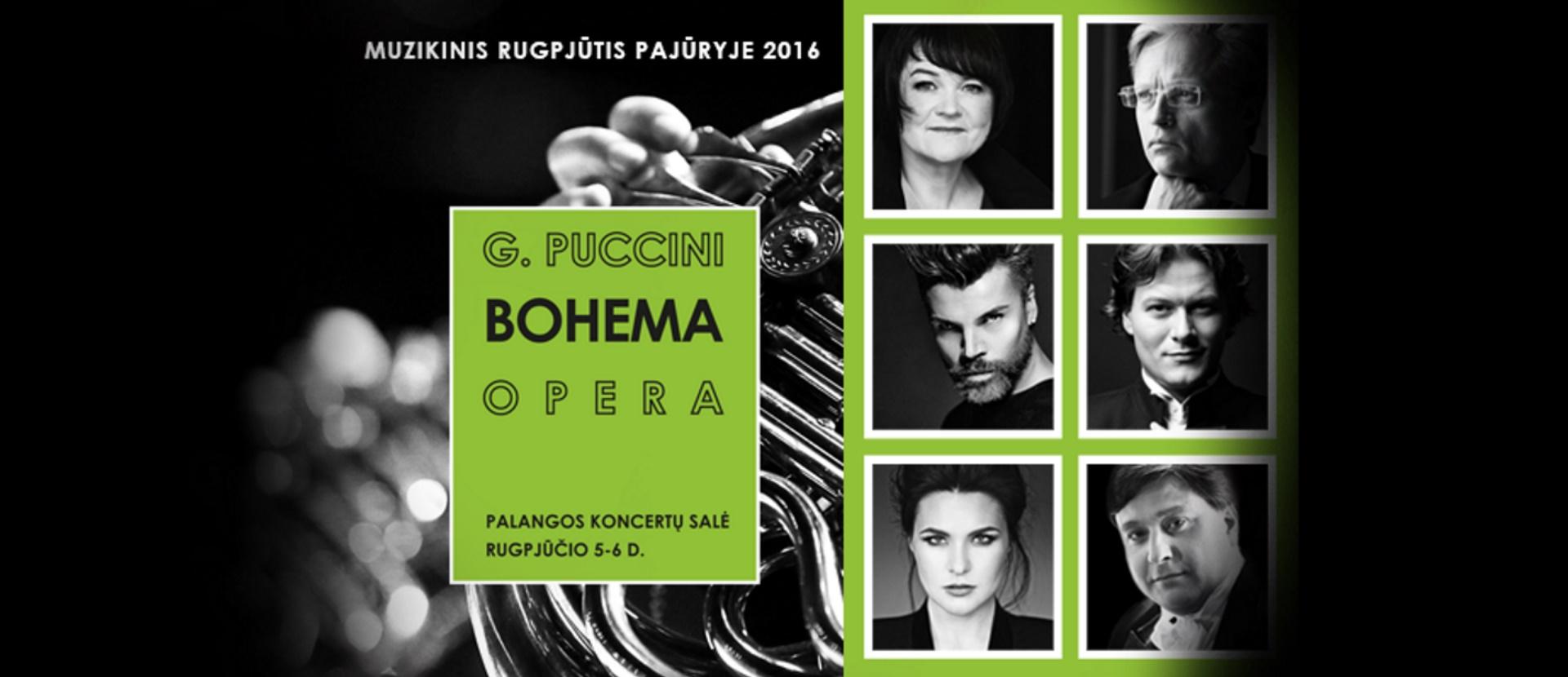 """Giacomo Puccini """"Bohema"""""""