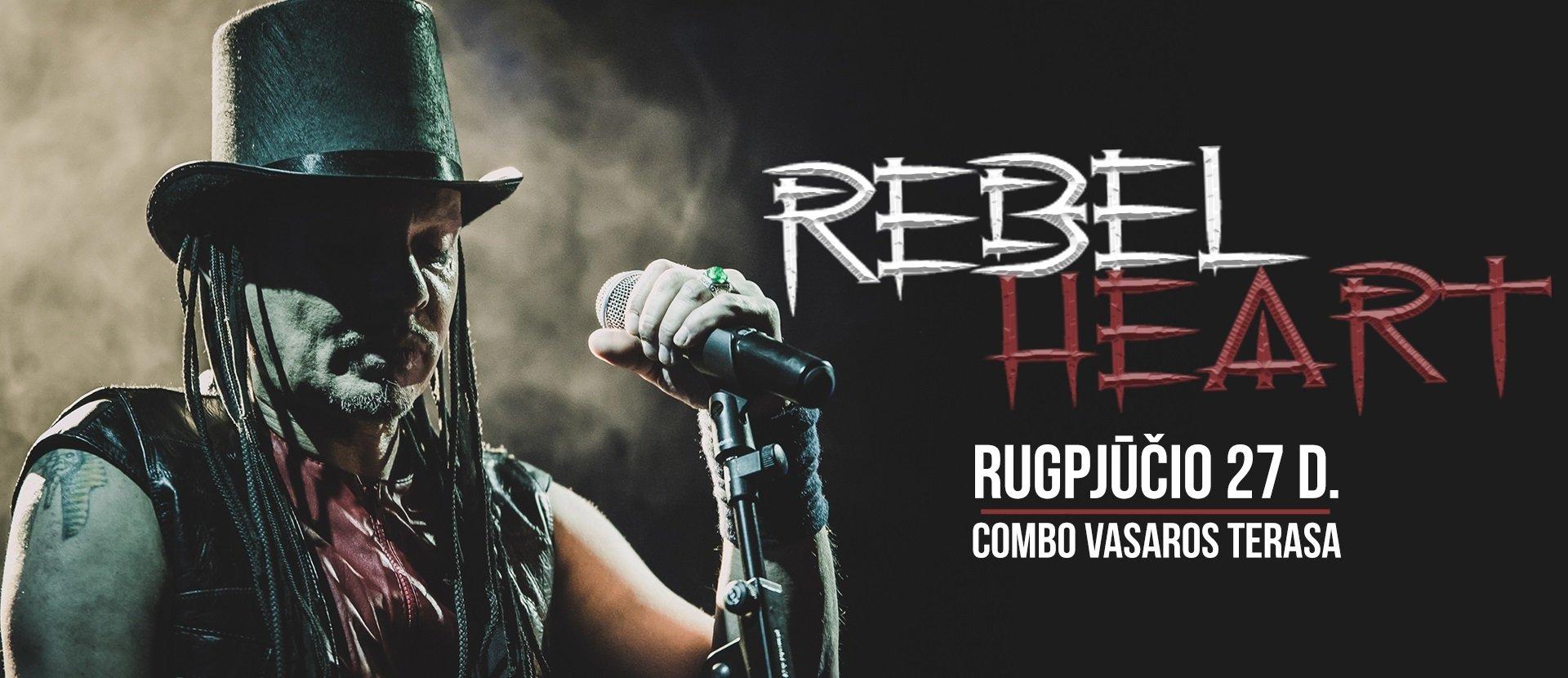 "Grupės ""Rebelheart"" koncertas!"