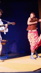 Youth theatre: THE LOVE OF HORSE DOMINICUS director Albertas Vidžiūnas