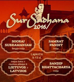 """Festivalis """"SurSadhana-16"""""""