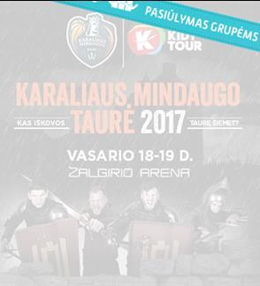KIDY tour – Karaliaus Mindaugo taurė 2017
