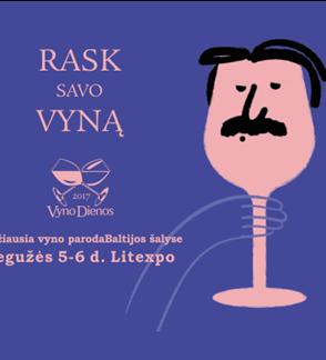 """Tarptautinė vyno paroda """"Vyno dienos 2017"""""""