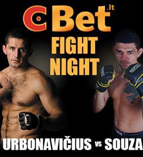 CBet Fight Night: Urbonavičius vs Souza