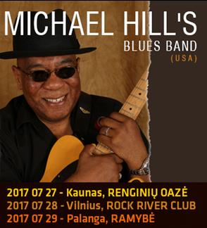 MICHAEL HILL'S BLUES BAND (USA) live show