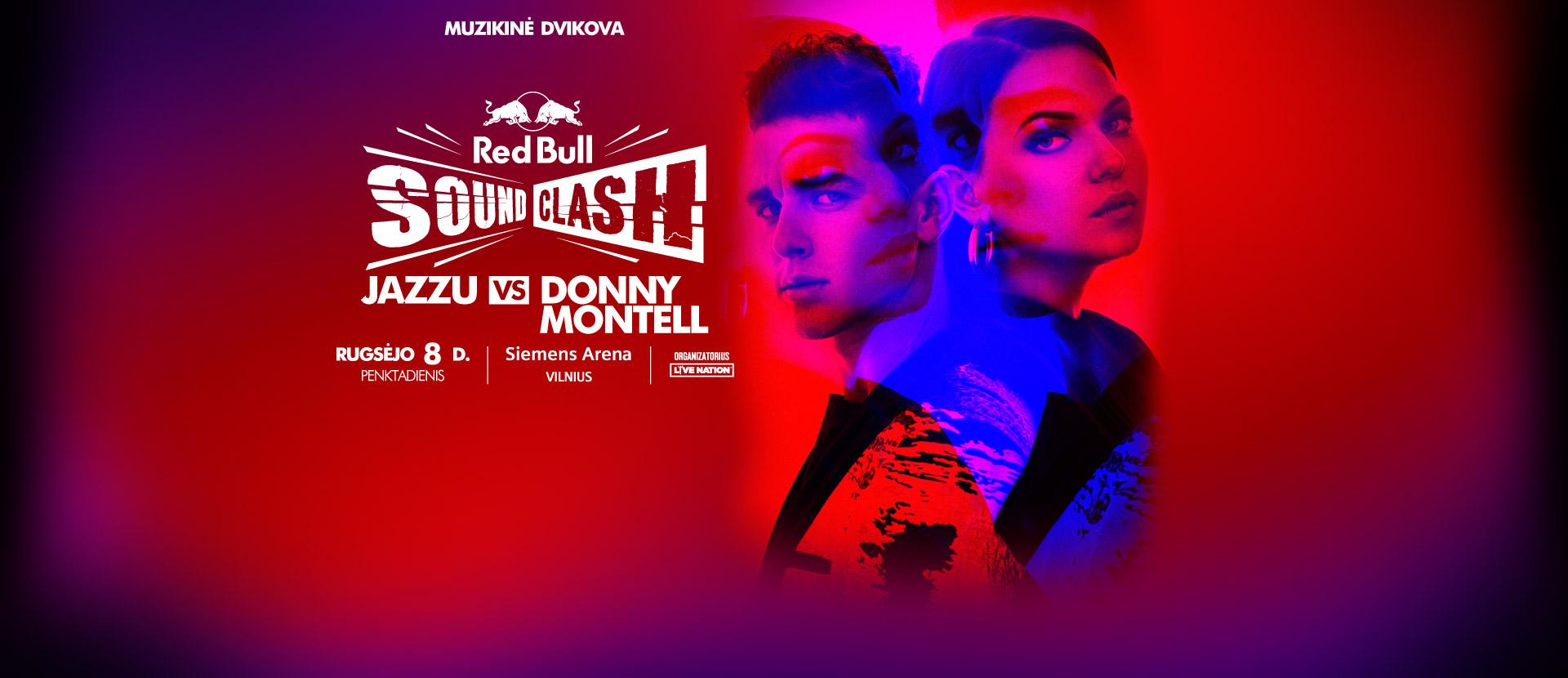 RED BULL SOUND CLASH: JAZZU vs DONNY MONTEL