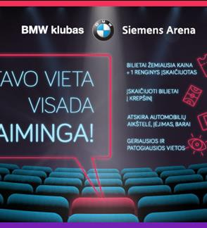 2017/2018 sezono BMW klubo narystė