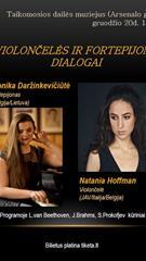 "Koncertas ""Violončelės ir fortepijono dialogai"""