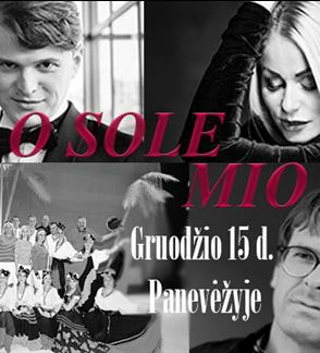 Gražiausios itališkos melodijos O SOLE MIO