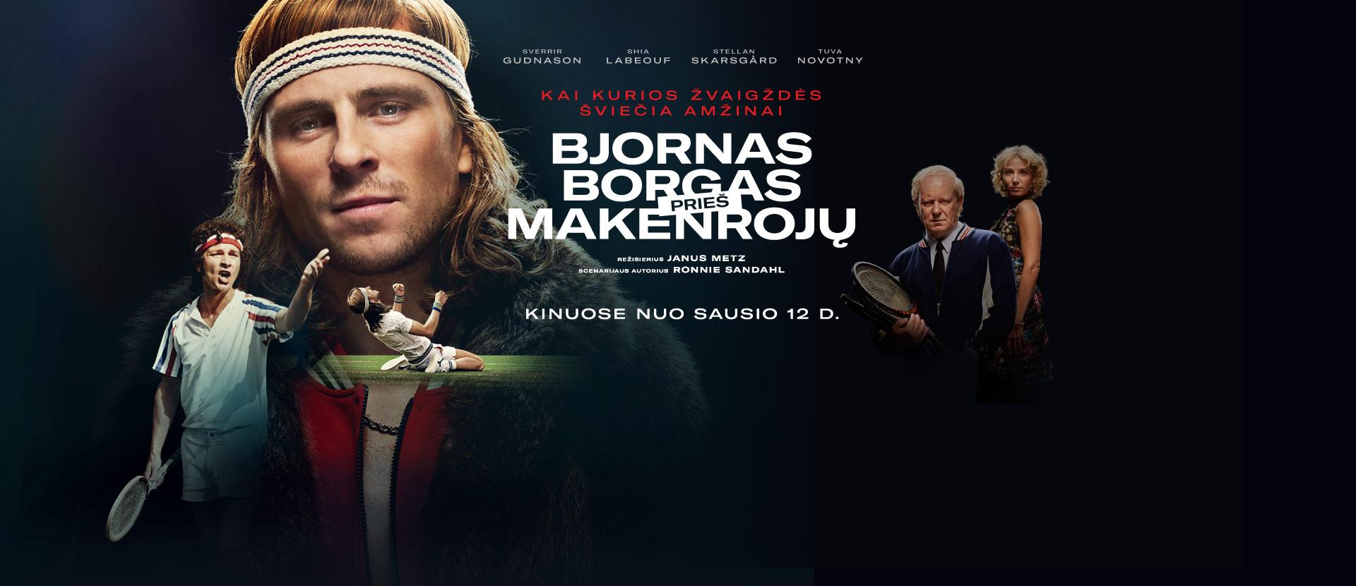 Bjornas Borgas prieš Makenrojų