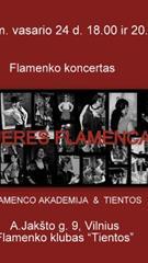 """Flamenko koncertas """"Mujeres flamencas"""""""