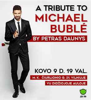 Michael Buble tribute by Petras Daunys