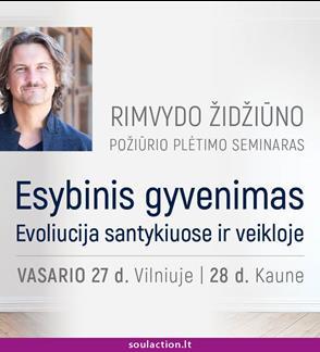 """""""ESYBINIS GYVENIMAS. EVOLIUCIJA SANTYKIUOSE IR VEIKLOJE"""""""