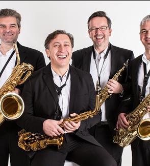 XXIII Pažaislio muzikos festivalis Pašėlę saksofonai