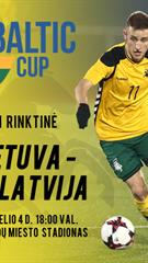 Baltijos taurė: Lietuva U21 – Latvija U21