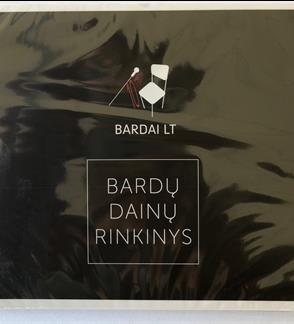 """Bardai LT  """"Bardų dainų rinkinys"""" CD"""