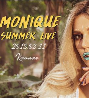 Monika Pundziūtė-Monique: Summer Live