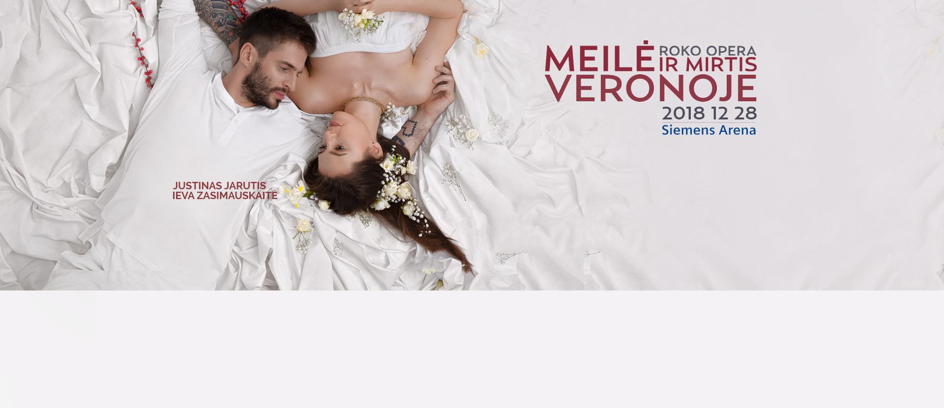 """Roko opera """"Meilė ir mirtis Veronoje"""""""