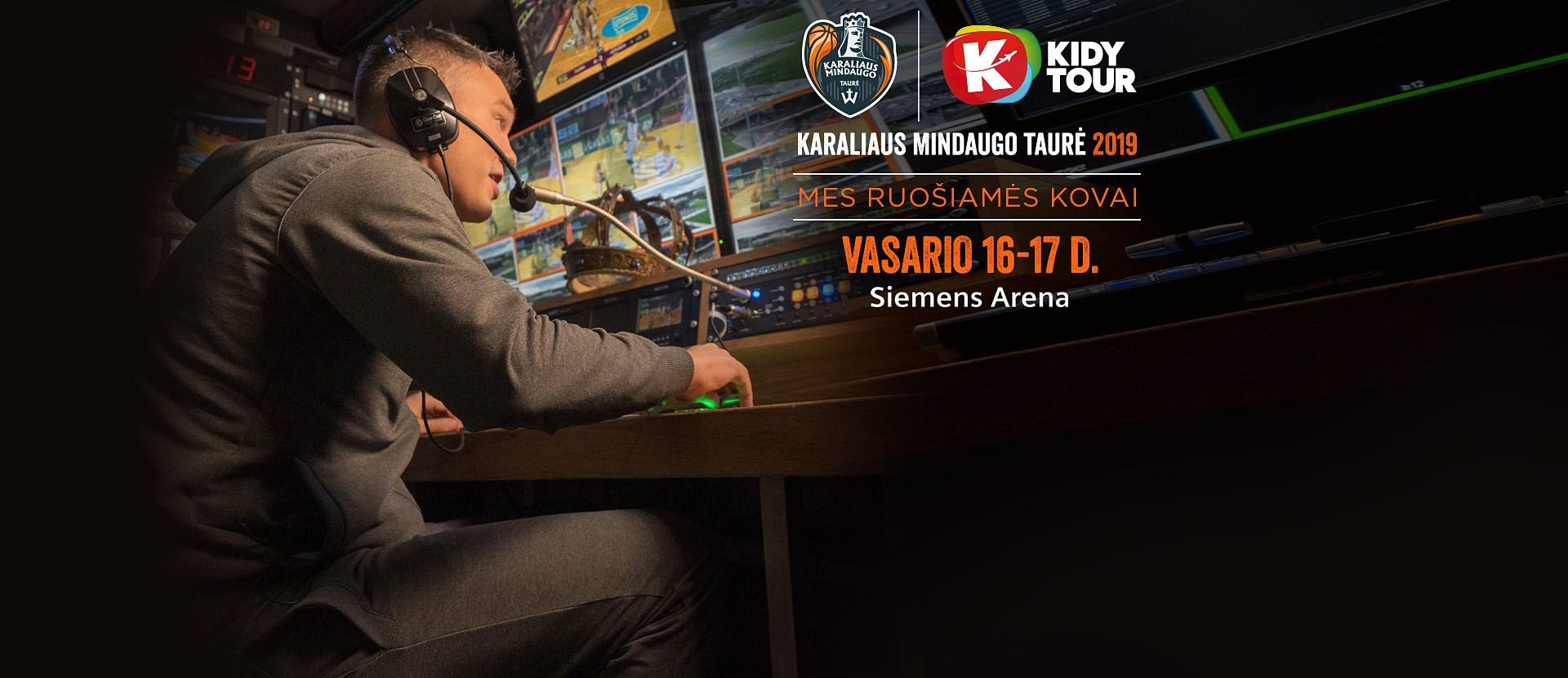 """Kidy Tour"" Karaliaus Mindaugo taurė 2019"
