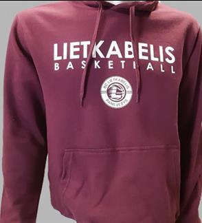 """Panevėžio """"Lietkabelio"""" krepšinio klubo oficialus džemperis"""