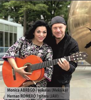 Monica ABREGO (Meksika) ir Hernan ROMERO (JAV)