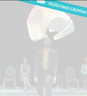 "Pasiūlymai grupėms: ""Late Night"" (12+) / Blitz Theatre group (Graikija) / III tarptautinis teatro festivalis ""TheATRIUM"""