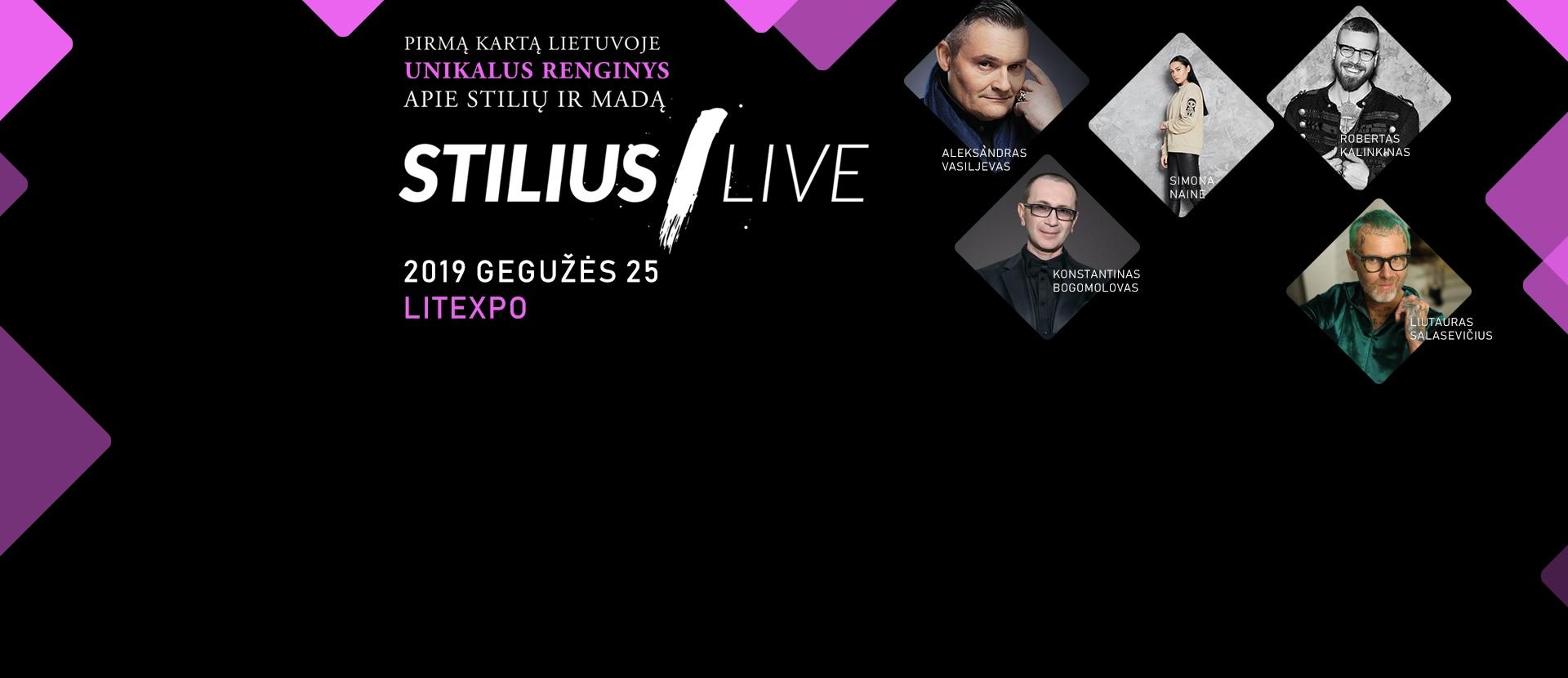 """Renginys apie stilių ir madą """"STILIUS LIVE"""""""