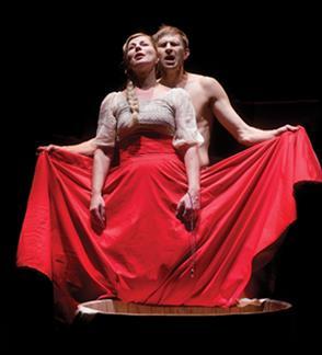 Valstybinis jaunimo teatras: TRYS MYLIMOS rež. Algirdas Latėnas