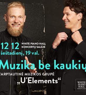 """Festivalis """"Muzikinės Kalėdos"""". MUSIC WITHOUT MASKS"""