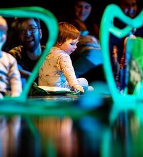 """Šokio teatras """"Dansema"""" I """"Miškas"""" interaktyvus šokio spektaklis 8–24 mėn. kūdikiams"""