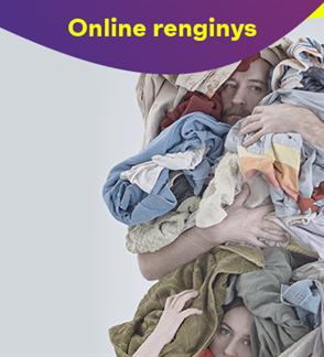 Online. Šokis skalbimo mašinai ir mamai