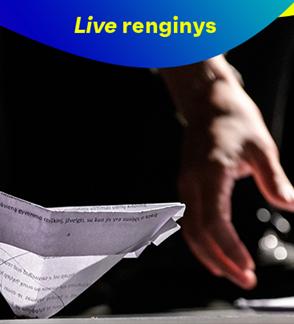 """LIVE: Jaunimo teatras: """"Sau pačiam"""". Rež. Audronis Liuga"""