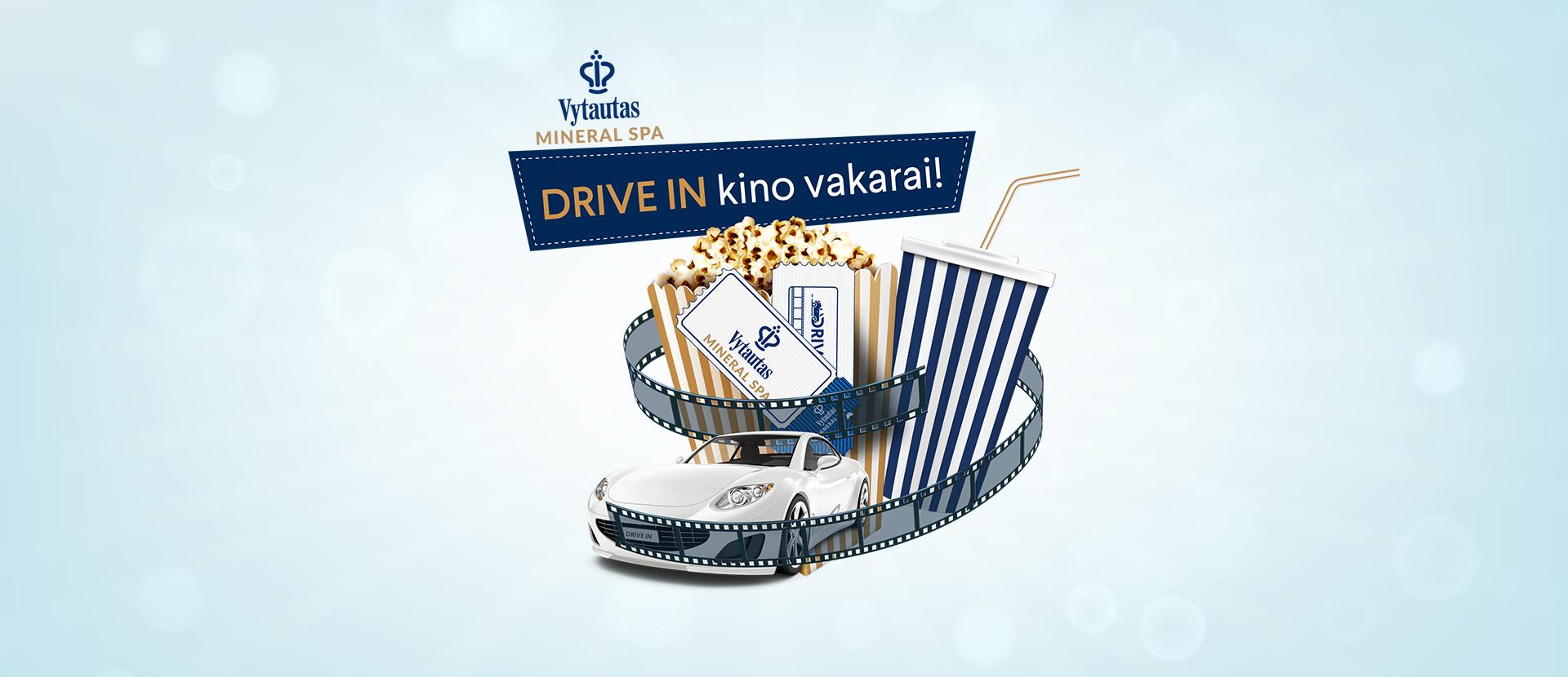 """Vytautas Mineral SPA"" kviečia į DRIVE -IN kino vakarus Birštone"