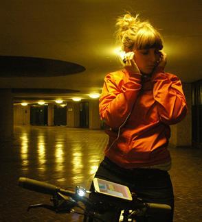 SIRENOS'21: Ir tarė dviratininkas (Rider spoke)